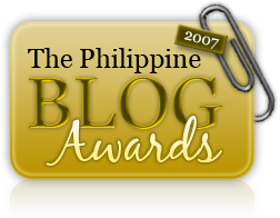 Philippine Blog Awards 2007