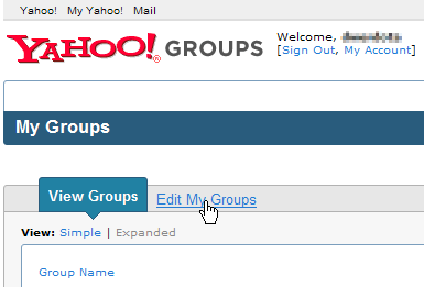 yahoo groups edit groups